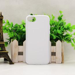 Canada 100 pcs 2D Dur PC Sublimation Cas de téléphone pour iPhone6 6plus 7 7plus avec Blank Metal Insert DIY Design Back Cover Housing Offre