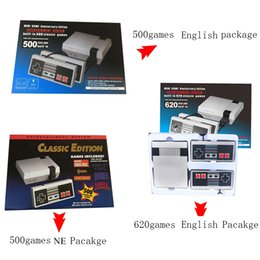 Wholesale Mini TV Video Handheld Game Console Entertainment System Built in Classic Games Classic game with Controllers