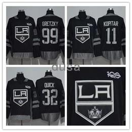 Wholesale Nylon King - 2017-2018 Hockey Jerseys Ice Stitched adlads Los Angeles Kings Youth Hockey Jerseys 32 Jonathan Quick 11 Anze Kopitar 99 Wayne Gretzky