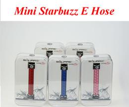 Wholesale Black E Hookah - Mini Starbuzz E Hose Square Electronic Handled Hookah Mini E Hose Kit More Portable Ecigs VS subox mini