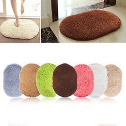 Wholesale Oval Carpets - Design Hot Sale New 360 Rotatable of Super Magic Slip-Resistant Pad Room Oval Carpet Floor mats