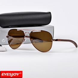 Wholesale Titanium Glasses Frames For Men - Mens Brand Sunglasses Aviation Material Frames Top Quality G-15 Glass Lens Fashion Brand Designer sunglasses for men women With Box