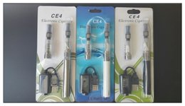 Wholesale Double Blister Pack - Ego CE4 Blister kits with 1 Extra Atomizer blister pack kits 650mah 900mah 1100mah ego battery VS eGo AIO kit CE3 Kit
