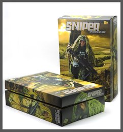 Wholesale Wood Toys Military - 2014 Free Shipping NEW Arrival Jungle Sniper soldier toys Soldier model  military toys(free shipping)
