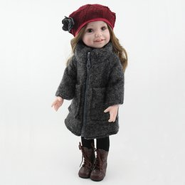 Wholesale Little Girls Baby Dolls - American Girl Silicone Dolls Reborn Baby Doll Little Girl Boy Birthday Gift Simulation Dolls Early Education Dolls Baby Shower