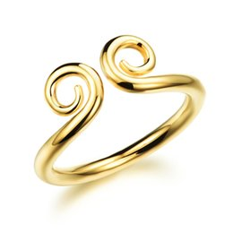Wholesale Monkey Rings Jewelry - Woman's 18K Gold Plated Rings Classical Monkey King's Head Band Design Horse Year New Fashion Women Jewelry AKJ039