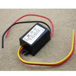 Wholesale 3v Dc Power Supply - DC Power Converter 15W 12V Step Down 6V 3V 3A Supply Module Waterproof B00211 BARD