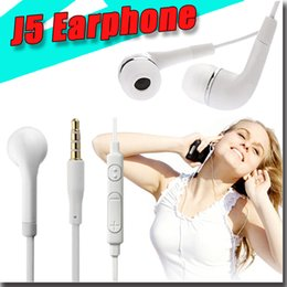 Wholesale Earphones Oem - 2016 OEM 3.5mm Tangle Free Stereo Headset with Microphone and Volume Control For Samsung S6 earphone For iPhone 6s for s6 edge