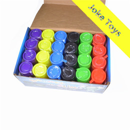 Wholesale Multicolor Oil Paintings - 12 pcs PrettyBaby Festival Novelty children adult toy oil drums trick paint barrel slime April fools day Halloween gag tricky Joke toys