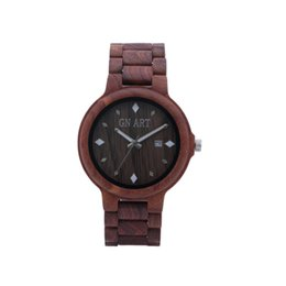 Wholesale Ladies Wooden - 2017 Custom Logo Wooden Design Man and Lady Vogue Watches
