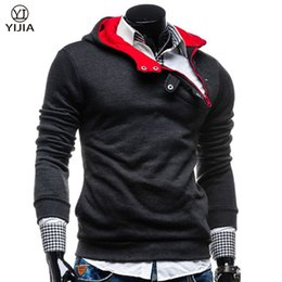 Wholesale Mens Sports Track Suits - Wholesale-New Hot Mens Hoodies And Sweatshirts Men Sweat Sport Hip Hop Assassins Creed Track Suit Hoodie Brand Clothing Sweatshirt