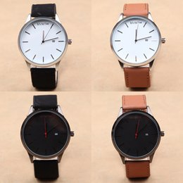 Wholesale Europe Watches - The new Europe and the United States fashion female men watches watches leisure belt business restoring ancient ways quartz watch