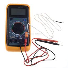 Wholesale Multimeter Capacitance Temperature - Digital Multimeter Volt Amp Diode Ohm Capacitance Temperature Transistor B00342 OSTH