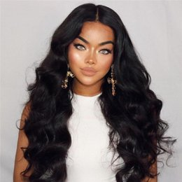 Wholesale Long Hair Wigs Smooth - NEW ARRIVAL Human Hair Wigs Body Wave Indian Remy Full Lace Wigs Smooth and Soft Human Hair Wigs for Black Women