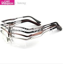 1c5803a823 Al por mayor-Nueva marca de diseño japonés Pure Titanium Men Gafas ópticas