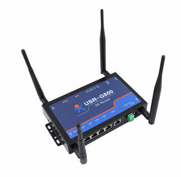 Wholesale Industrial Networks - Q18044 USRIOT USR-G800-42 Industrial 4G Wireless Router TD-LTE and FDD-LTE Network Support Web Setting WiFi Function