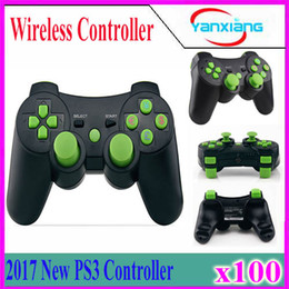 Wholesale Wireless Pc Station - Wireless Bluetooth Gamepad For PS3 Controller Playstation 3 dualshock game Joystick play station 3 console PS 3 100 pcs YX-PS3-13