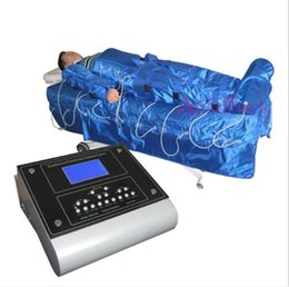 Wholesale Free Tax - EU TAX FREE 3in1 pressotherapy lymph draniage far infrade heating low-frequency muscle stimulator EMS blanket sauna Microcurrent machine