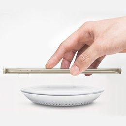 Wholesale Cargador Galaxy - Mobile phone qi wireless charger charging pad for Samsung Galaxy S6 edge G9200 G9250 cargador inalambrico carregador sem fio