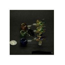 2019 plomb liquide Conduite de verre concave de premier plan ---- brique en verre de plate-forme pétrolière pipe à eau épaisse en pyrex épaisse pipe à eau liquide enivrante sci, livraison aléatoire des couleurs plomb liquide pas cher