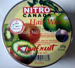 Wholesale Hair Waxing Tools - 1 pc Nitro canada hair wax 150g with olive oil pomade wax Hair Care & Styling Tools