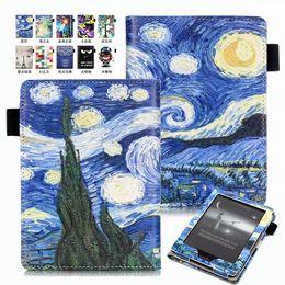 "Wholesale E Readers Kindle Amazon - Accessory Cartoon Book PU Folio Flip Leather Case Cover Skin For Amazon ALL-New Kindle 2016 8th Gen 6"" E-reader"