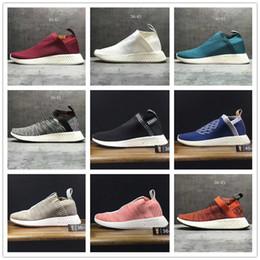 Wholesale Glitter Socks - New Color NMD City Sock 2 Primeknit Running Shoes,Men Women NMD CS2 PK BOOST Training Sneaker Sock PK R2 Runner PK Boost Casual Boost 36-45