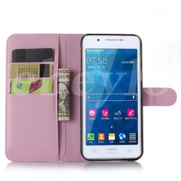 Wholesale Leather Cases Grand Duos - For Samsung S5 Grand Duos J1 Wallet PU Leather Case Cover Pouch With Card Slot Photo Frame in Opp Package