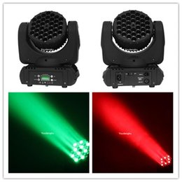 Wholesale Pro Stage Lighting - Wholesale- 4 pieces Pro RGBW 36x3w Led Moving Head Wash beam Beam Disco Stage Light