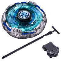 Wholesale Mini Beyblade Battle - Hot Constellation alloy battle Beyblade Beyblade toy hakucho dark Avenger Pluto seat Children's Day gift TY1987