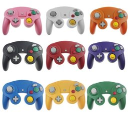 NGC Wired Gaming Game Controller Gamepad Joystick Turbo DualShock para NGC Nintendo Console Gamecube Wii U Extension Cable Cord Q2 desde fabricantes
