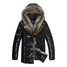 Wholesale Large Size Down Coats - White Goose Down Parkas Men Winter Hood Jacket Snow Coats Waterproof Windbreak Warm Thickening Outwear Overcoat Outdoor Tops Large Size 4XL