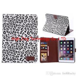 Wholesale Ipad Book Stand Case - Retro Leopard pu leather Magnetic flip Case for ipad mini 2 3 wallet book Style stand function wallet case for ipad mini retina