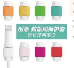 2019 яблочный кабель 4s Горячий продавать силиконовые USB кабель для зарядки питания Saver Protector обложка для Apple iPhone 4s 5 5s 6 6Plus защитный EC834 бесплатная доставка дешево яблочный кабель 4s