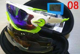 Wholesale Racing Boy - 2017 Polarized Brand Cycling Sunglasses Racing Sport Cycling Glasses Mountain Bike Goggles Interchangeable 3 Lens Jawbreaker Cycling Eyewear
