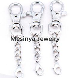 Wholesale Living Lockets Keychains - 30pcs floating charms memory living glass locket key rings keychains,glass locket and floating charm not included
