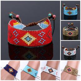 Wholesale String Wrap Bracelet - Beads Bracelets Handmade Friendship Wrap Cotton Friendship Bracelet Woven Rope String Friendship Bracelets For Women Charms Bracelets