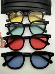 Wholesale Korea Man New Fashion - New High Quality V Brand Acetate night Glasses Korea fashion Bowie oculos Sunglasses men sunglasses women sun glasses occhiali lentes de sol