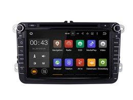 Wholesale Dvd Amarok - 8'' Quad Core Android 5.1.1 Car DVD Player For VW Caddy Tiguan Touran Magotan Superb EOS Bora Amarok With GPS Map