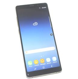 Wholesale Note Unlocked Gsm Wifi - 1GB 8GB Goophone Note 8 Fingerprint Quad Core MTK6580 6.3 inch 1440*720 HD 8MP Camera 3G WCDMA GSM Unlocked Smartphone