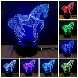 2019 tiernachtlichter Buntes Nachtlicht des neuen Intelligenzhaushalts Tierform Tischlampe Moderne stilvolle Partyatmosphärenlampe IA807 rabatt tiernachtlichter