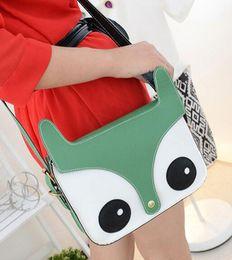 Wholesale Cartoon Little Fox - Fashion Korean Super Meng naughty little fox bag cute Japanese cartoon retro handbags
