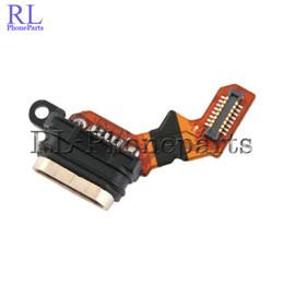 Micro cabo flexível on-line-10 pçs / lote para sony xperia m4 aqua e2303 e2353 novo conector micro usb porto de carregamento flex cable fita doca