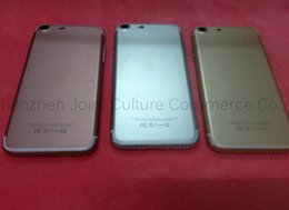 Wholesale Cheap Unlocked Dual Phone - iphone7 goophone i7 plus smart phones 8GB 3gb dual redmi goophone se 7 plus cheap unlocked phones 8mp