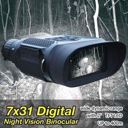 Wholesale Illuminator Optics - 3.5-7x31mm Digital Night Vision Binocular Infrared Illuminator 1300ft  400M Viewing Range 12 Language For Hunting CL27-0023