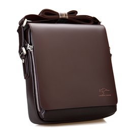 Wholesale Kangaroo Bag Men - Wholesale-2016 Bolsas Femininas Men Messenger Bag Genuine Kangaroo Leather Bag Men's Handbags Men Casual Shoulder Crossbody Briefcase