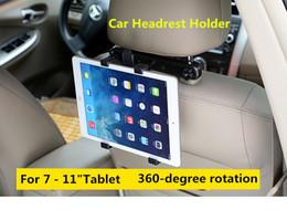 Clip ipad halter online-7 bis 11 Zoll Universal Auto Rücksitz Kopfstütze Halterung Halter Clip Halterung für iPad 3 4 5 Tablet SAMSUNG Registerkarte Tablet PC Stände