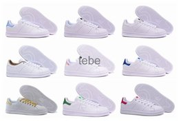 Wholesale Men S White Casual Shoes - Lowest Price 2016 New Stan Smith Sneakers Casual Leather Men's And Women 's Sports Running Jogging Shoes Men Fashion Classic Flats Shoes