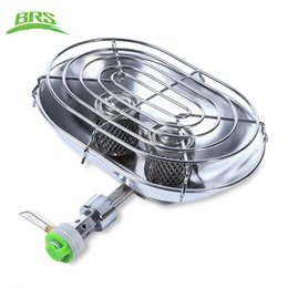 Wholesale Stove For Heating - BRS Professional Outdoor Stoves Warmer Heater Heating Stove with Double Burners for Outdoor Camping Fishing Hiking +NB