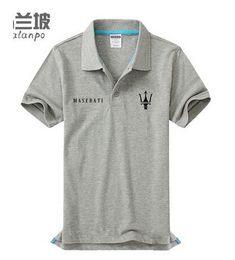 Wholesale Customized Fashion Shirt - Summer Maserati polo collar men's short sleeve POLO shirts high quality Customized shirt
